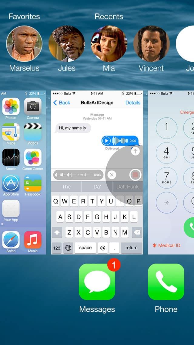 Free UI Kits: iOS8-GUI