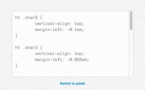 Web Typography: Kern.js