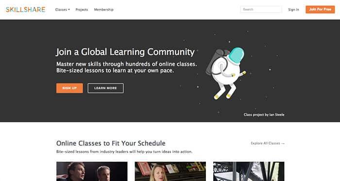 Skillshare: Learn web design