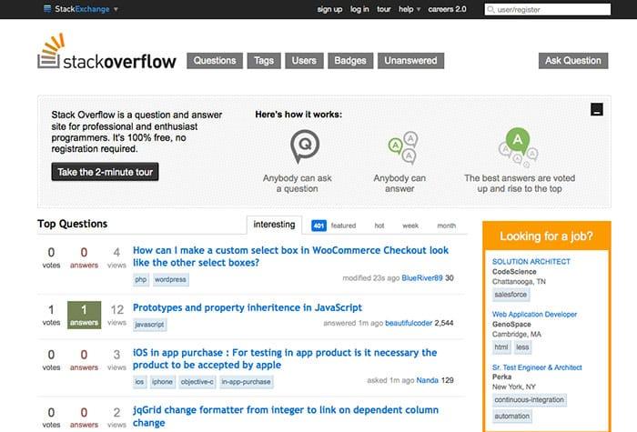 StackOverflow: Learn Web Design