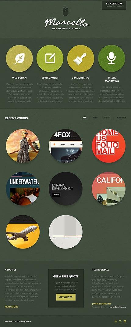 Summer Facebook Layouts: Design Studio Facebook Template