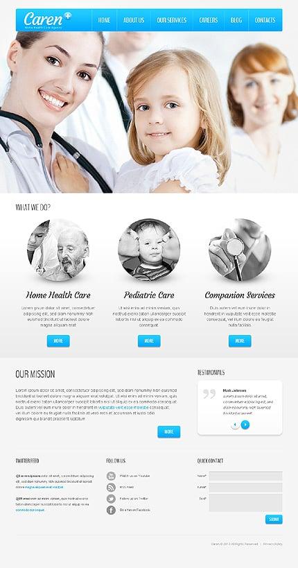 Mild Medical Joomla Template