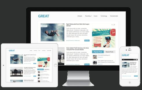 Great Free WordPress Theme