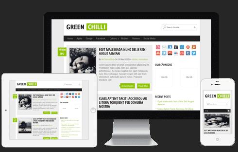 GreenChilli Free WordPress Theme