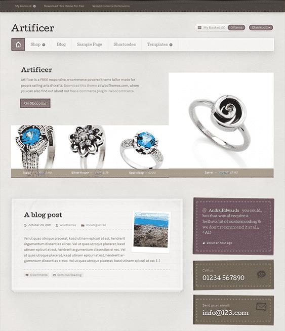 artificer-free-wordpress-ecommerce-themes