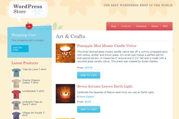crafty-cart-free-wordpress-ecommerce-themes