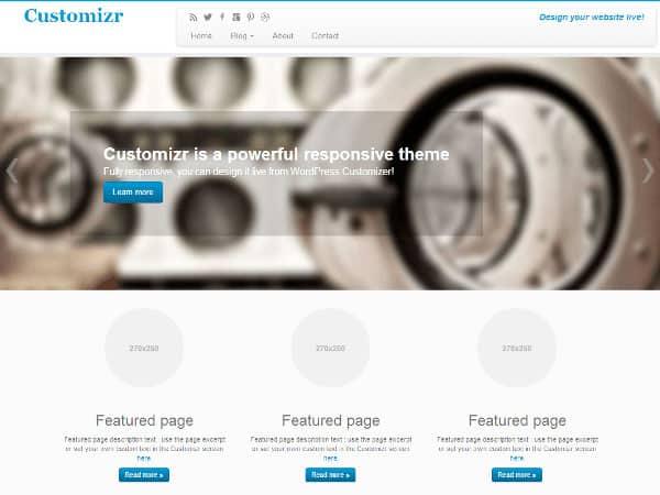 customizr Free WordPress Themes
