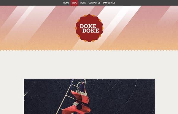 doke-doke Free WordPress Theme