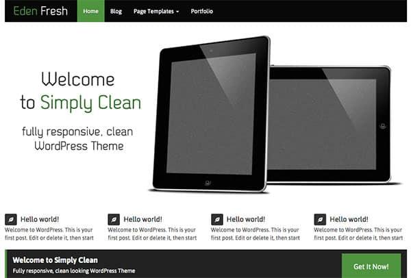 eden-fresh Free WordPress Theme