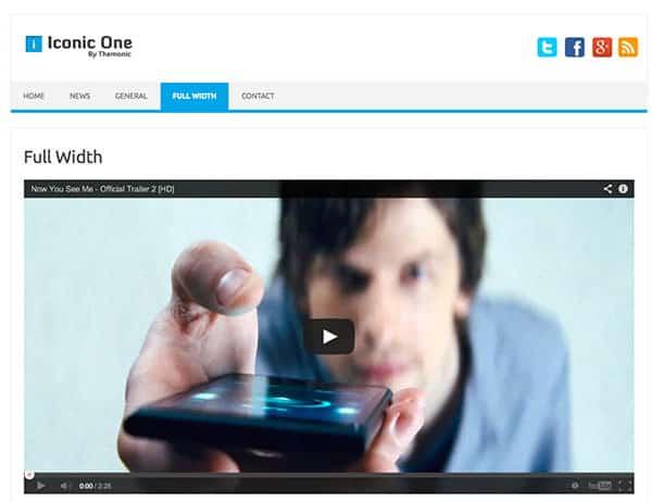 iconic-one Free WordPress Theme