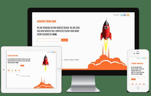 launcher Free WordPress Themes