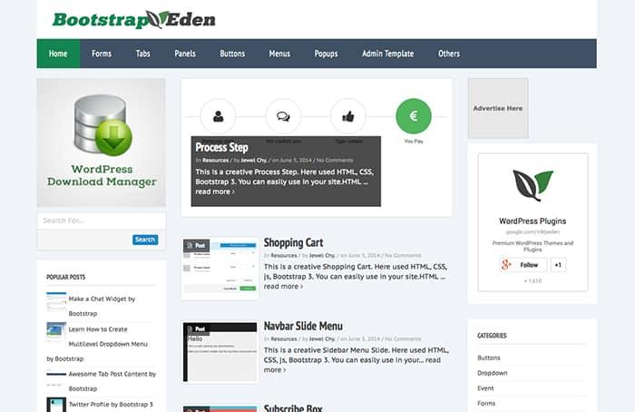 Newsflash: Best Free WordPress themes 2014