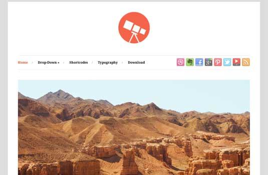 Photo Free WordPress Themes