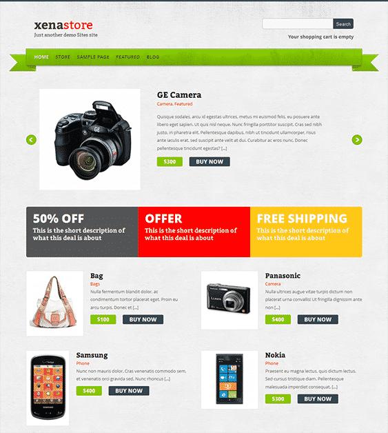 xenastore-free-wordpress-ecommerce-themes