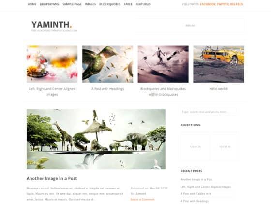 yaminth Free WordPress Themes