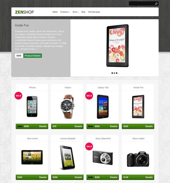 zenshop-free-wordpress-ecommerce-theme