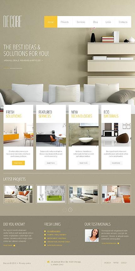 Stylish Interior Design WordPress Theme