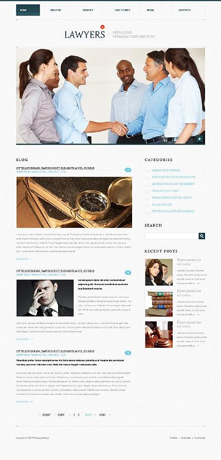 Law Firm Minimalist WordPress Themes