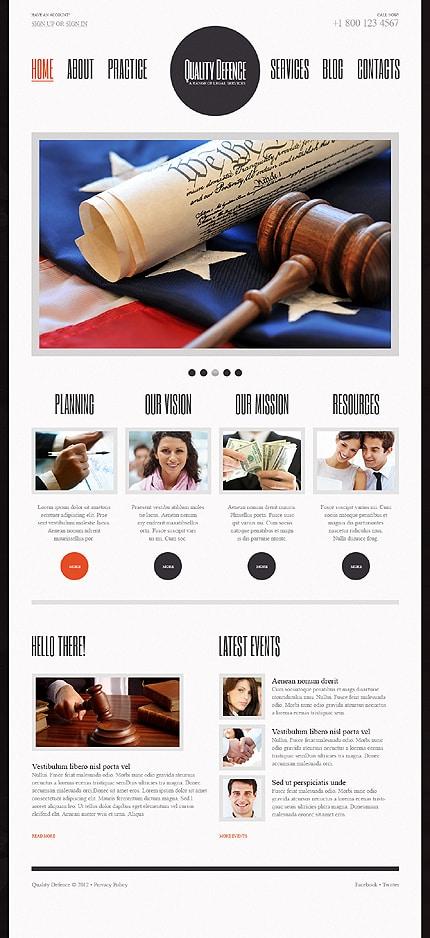 Law Firm WordPress Theme