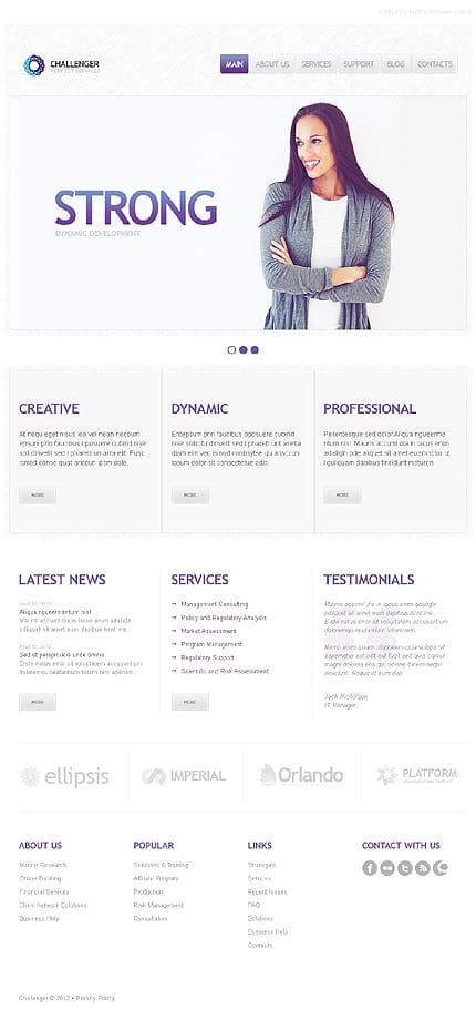 SEO Website Responsive WordPress Theme