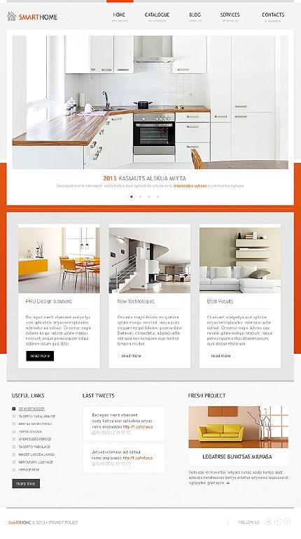 Elegant Interior WordPress Theme