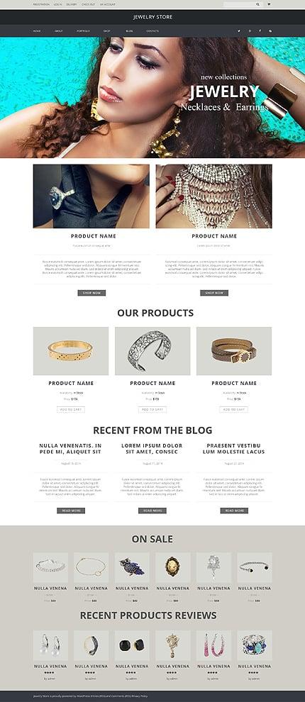 Jewelry Pieces WooCommerce Theme