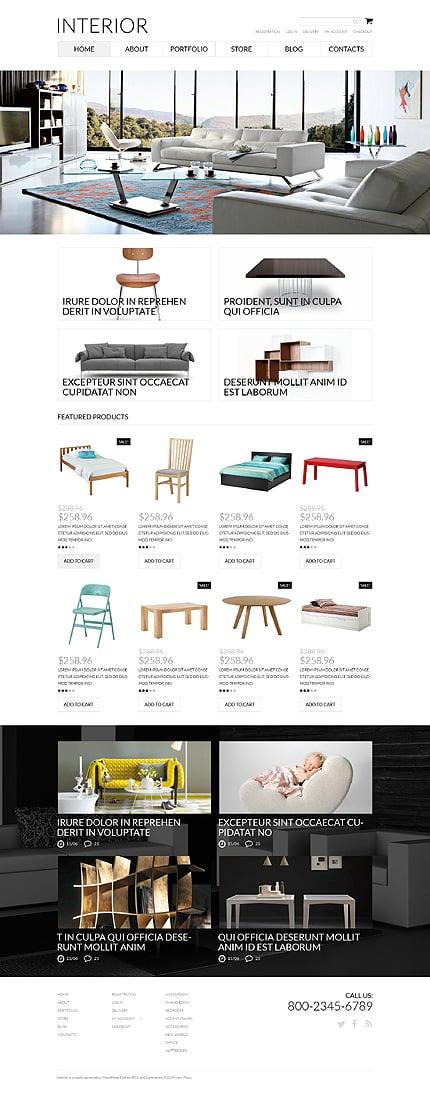 Interior Furniture WooCommerce Theme