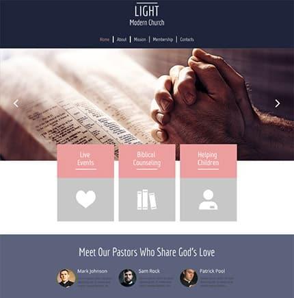 free html5 templates Light
