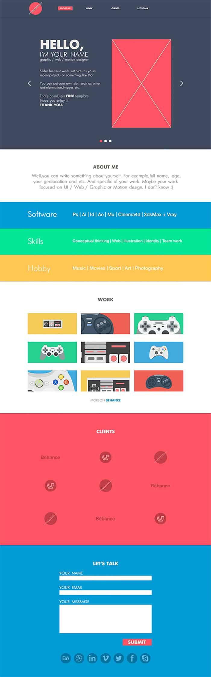 one-page-portfolio-template
